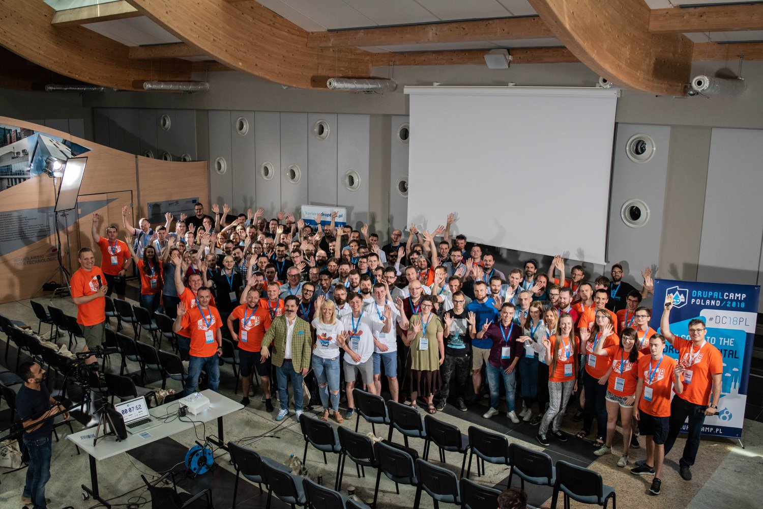 Participants of Drupal Camp Poland