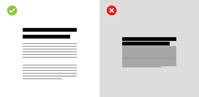 line spacing boosts readability