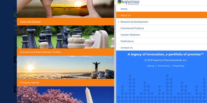 Supernous Farmaceuticals intranet