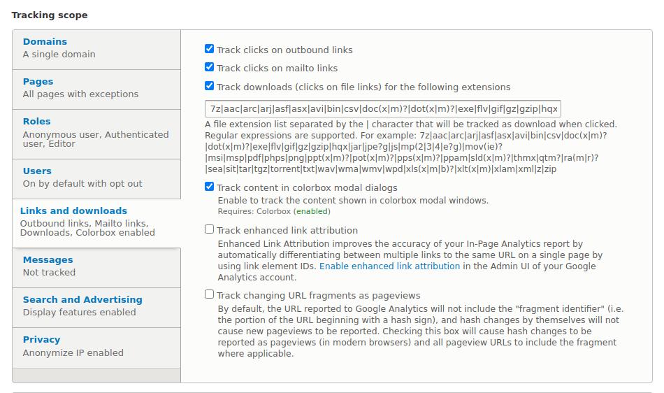 Google Analytics - Download