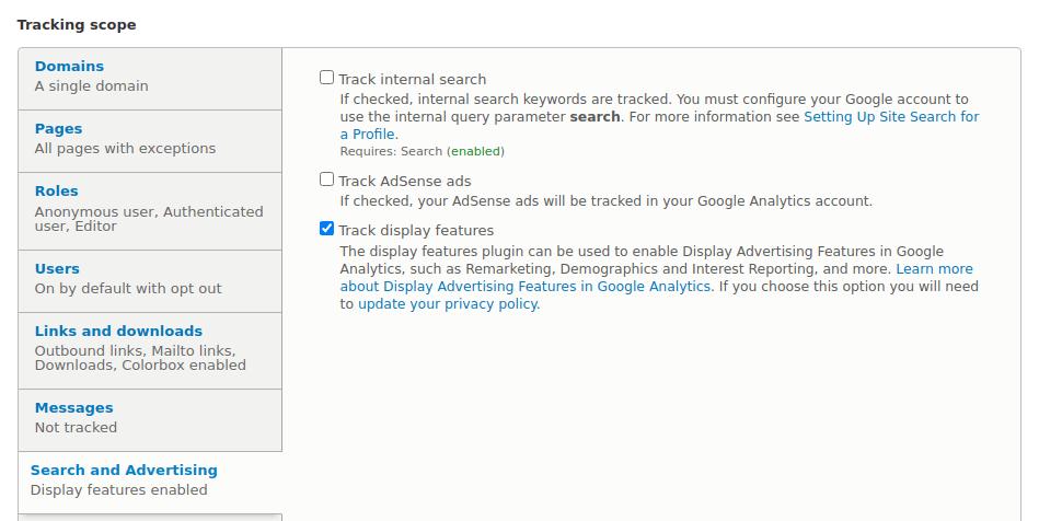 Google Analytics - Search, AdSense, Remarketing