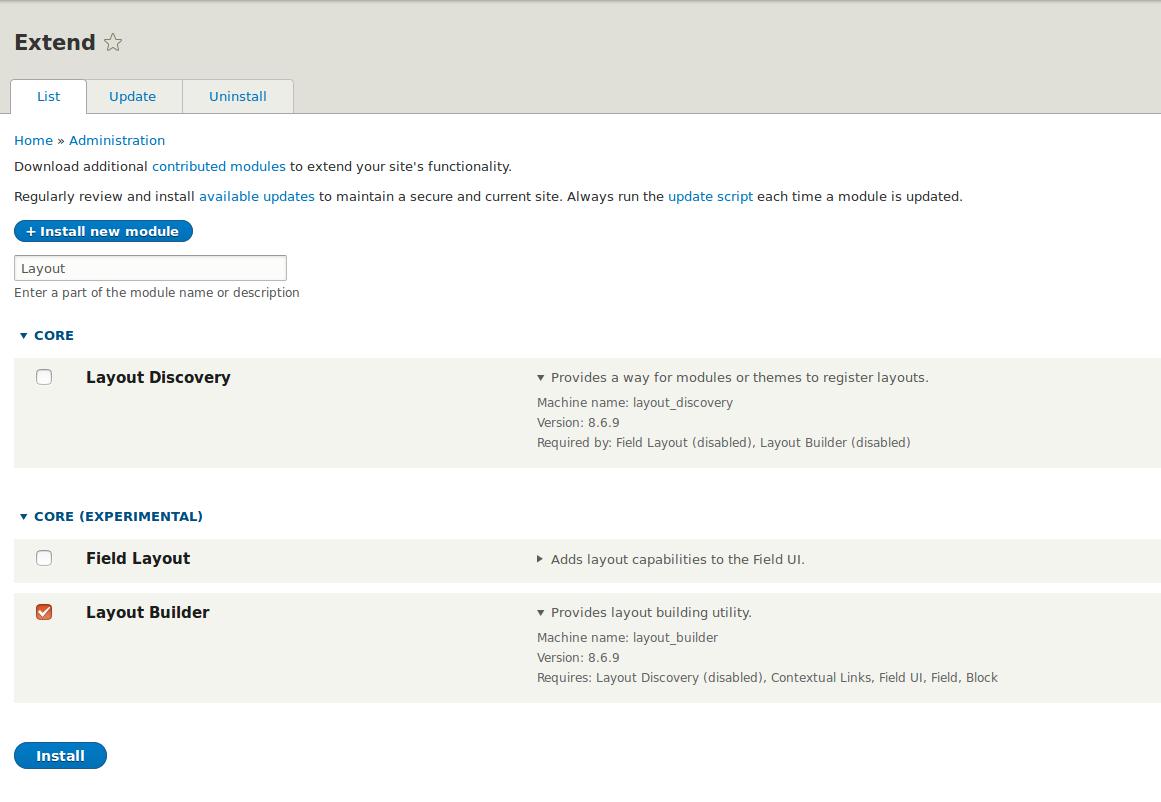 Layout Builder — building Drupal 8 layouts | Droptica Blog