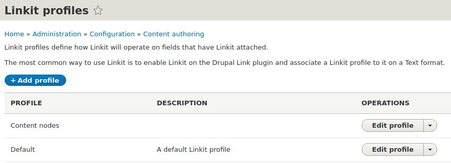 linkit-profiles