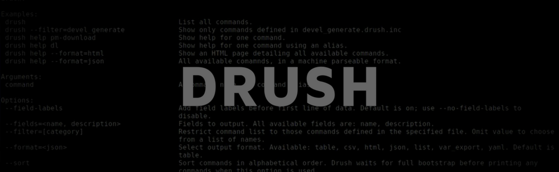 Your own Drush command in Drupal 8 | Droptica Blog