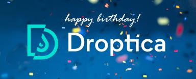 Droptica Birthday Photo