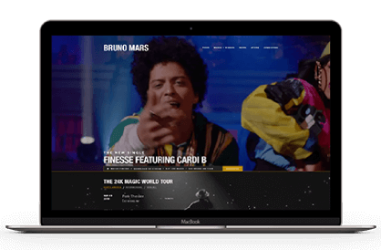 Bruno mars website