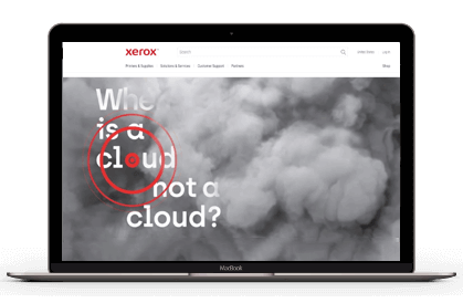 Xerox website